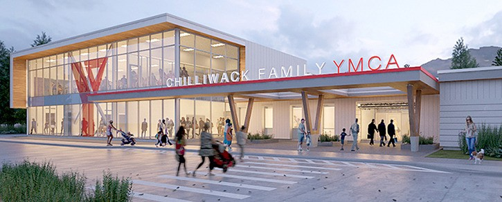 Illustration of the YMCA's plans for an expanded Hocking Centre that would create a 36