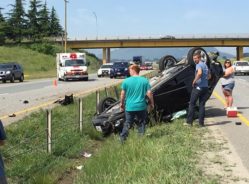 The cable-wire barrier in Chilliwack did it again. The special safety fence stretched along the median on Highway 1 might have prevented another cross-over crash last week.