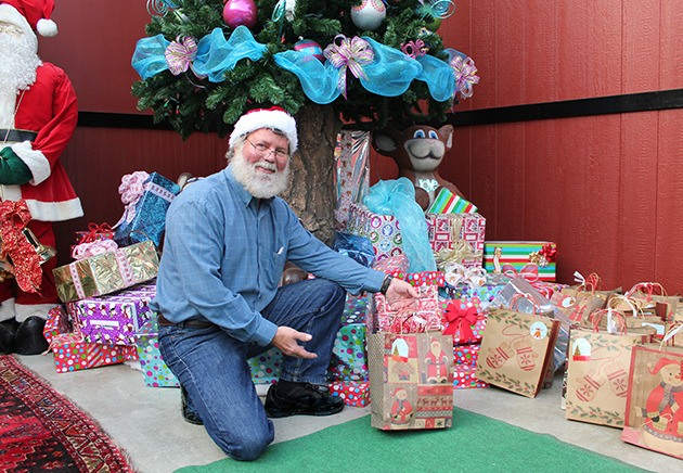 Gary Moran (pictured) and the Fantasy Farms team prepare for their annual A Christmas To Remember event