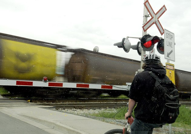 City officials have been working on silencing train whistles at Chilliwack train crossings for years.
