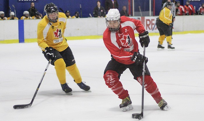 Video Langley Hosts Hockey Tournament For The Blind Chilliwack