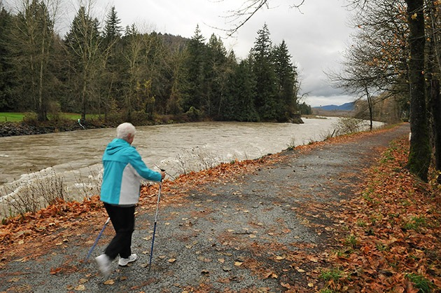 Search and Rescue officials are warning people to stay away from the murky and turbid Chilliwack-Vedder River.