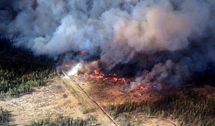 Evacuation orders have been issued for a second time for the Beatton Airport Road fire north of Fort St. John.