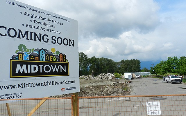 Chilliwack city council as approved a rezoning application that will transform the former UFV campus on Yale Road into a new residential sub division called Midtown. Demolition of the former campus buildings is already under way.
