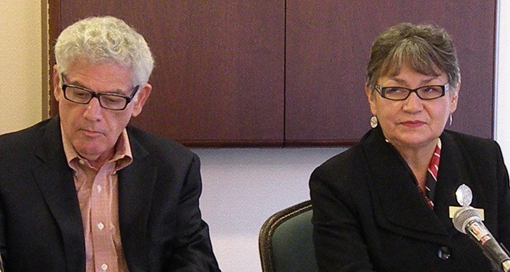 B.C. Treaty Commission federal representative Jerry Lampert and Chief Commissioner Sophie Pierre have struggled with slow movement from Ottawa in moving negotiations forward.