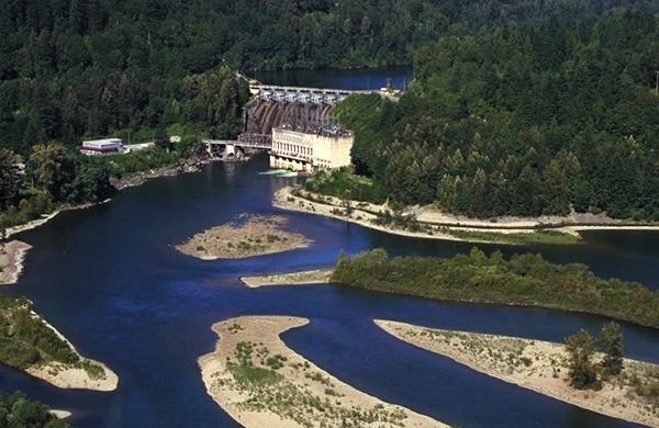 BC Hydro projects like the seismic upgrading of the Ruskin Dam in the Fraser Valley will no longer be completely designed by in-house engineers.