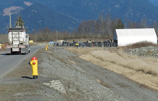 Waste plant foes were meeting at the site in Chilliwack Friday to strategize a way to stop it from being built.