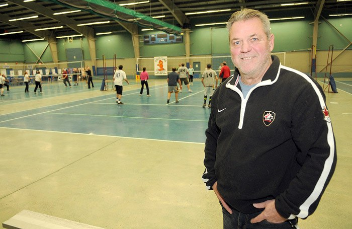 Rich Kramp helped start the CATT (Chilliwack Athletes for Turkeys and Toys) Fund Volleyball Tournament 25 years ago.