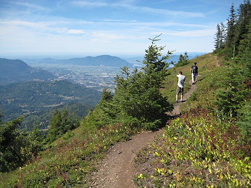 Elk Mountain Trail.