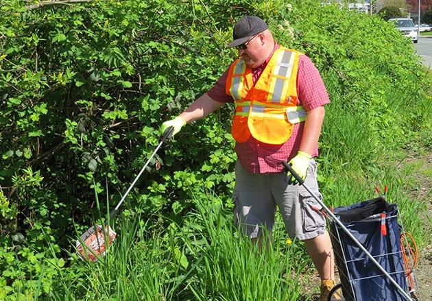 David Elderkin is a primary organizer for Chilliwack Clean-Up