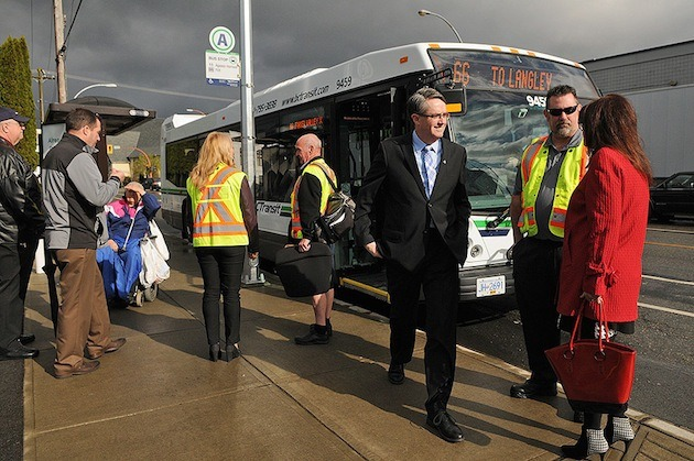 Only two months after the new bus route was launched