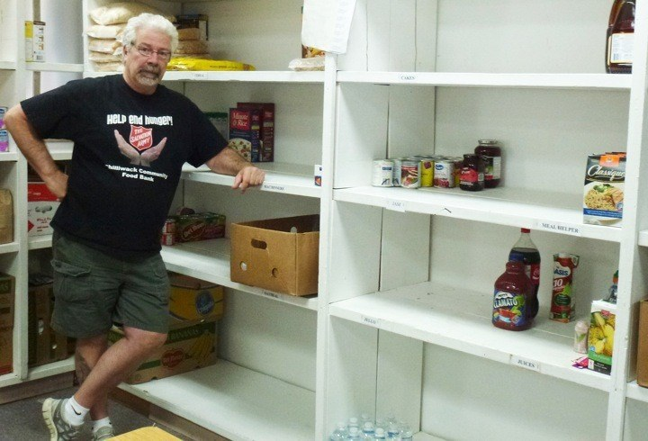 Chilliwack food bank manager Don Armstrong says he's never seen the shelves as empty as they are now.