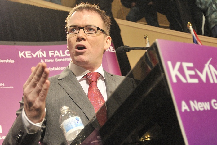 Liberal leadership candidate Kevin Falcon is MLA for Surrey-Cloverdale and former health minister.