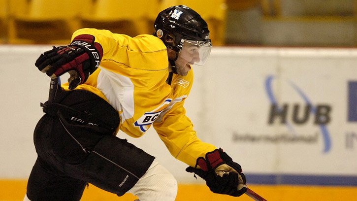 Chris Blessing hopes to be healthy and thinks he'll be happy playing for head coach Harvey Smyl and the resurrected Chilliwack Chiefs.