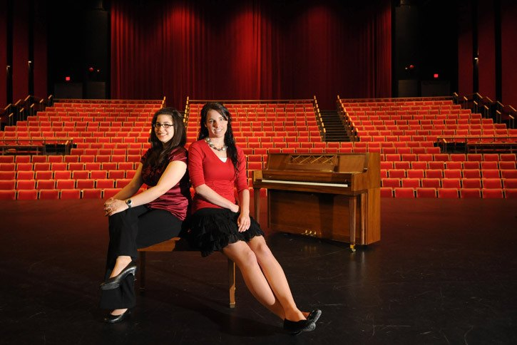 Vocalist Nina Payne (left) and pianist Janelle Van Maren will be performing during the Chilliwack Symphony Orchestra's May 28 concert.