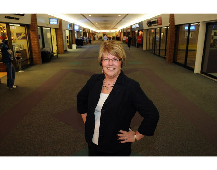 Pamela Law is the manager at Chilliwack Mall.