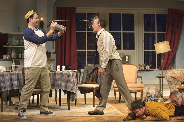 The Odd Couple takes is at the Cultural Centre on Feb. 24. See listing below for more info.