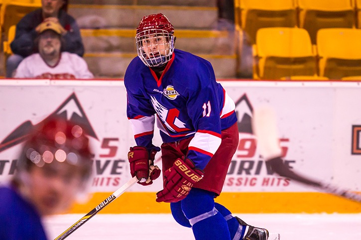 Hard hitting 17 year old forward Jesse Lansdell joins the Chilliwack Chiefs full-time in 2015-16 after getting his feet wet late last season. The Yale academy grad earned an NCAA commitment from Notre Dame earlier this week.