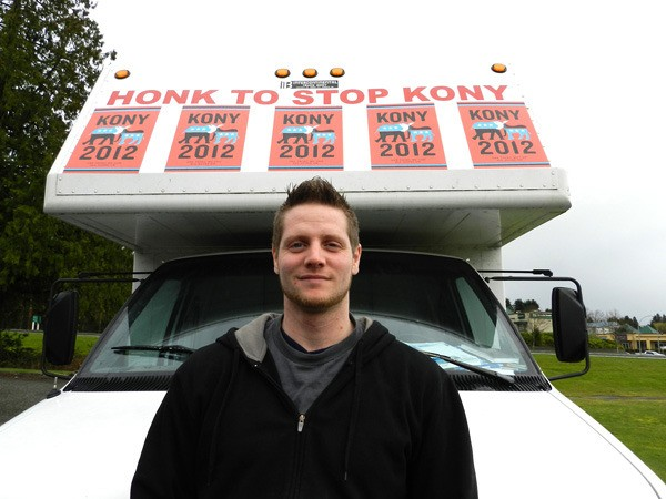 Abbotsford man wants people to 'Honk to stop Kony'