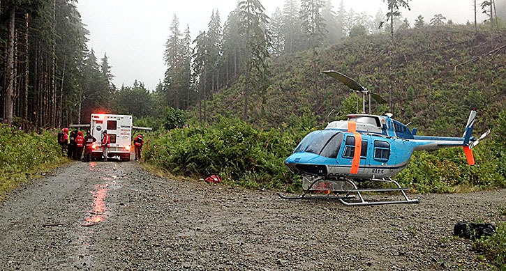 A three-day-long search of the Chehalis area began at about 10:45 p.m. on Canada Day (Friday