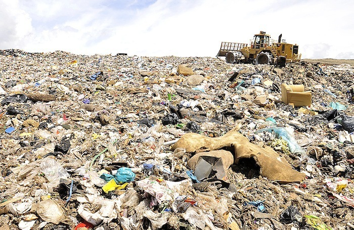 Some garbage from Metro Vancouver residents ends up at the Vancouver Landfill in Delta