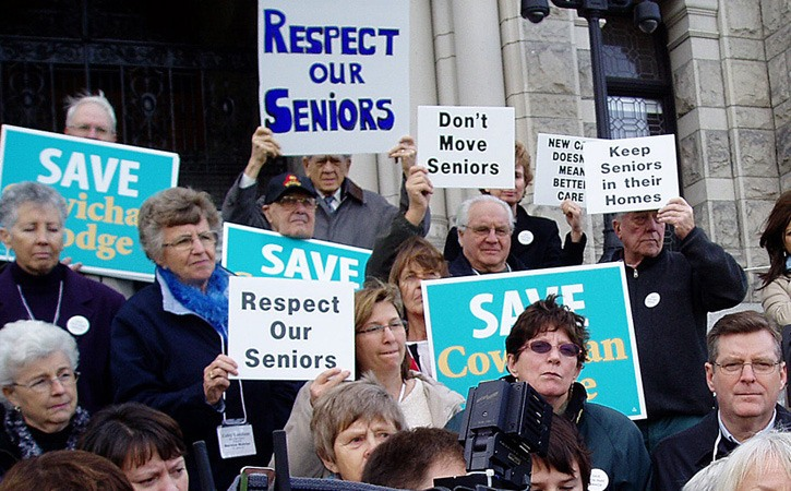 Seniors are dedicated voters and political parties are courting their support with promises to enhance pensions.
