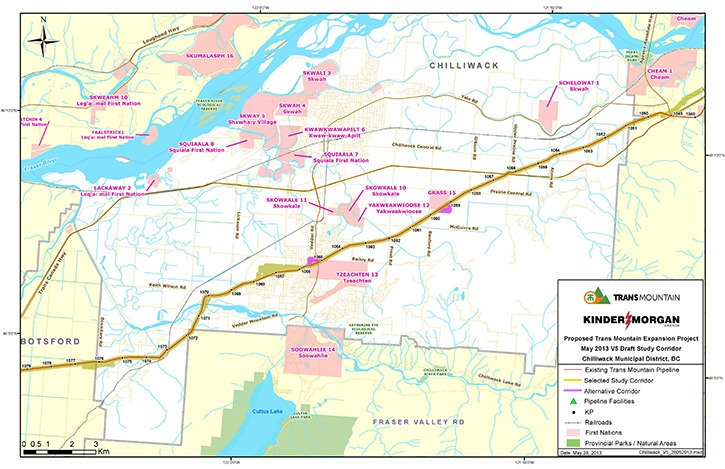Kinder Morgan hosted closed Chilliwack stakeholder meeting ... on keystone pipeline map, cochin pipeline map, seaway pipeline map, proposed pipeline map, express pipeline map, yellowstone pipeline map, puget sound pipeline map,