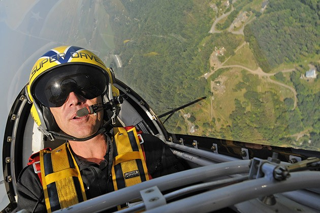 A groundswell of support for air show pilot Super Dave Mathieson erupted online