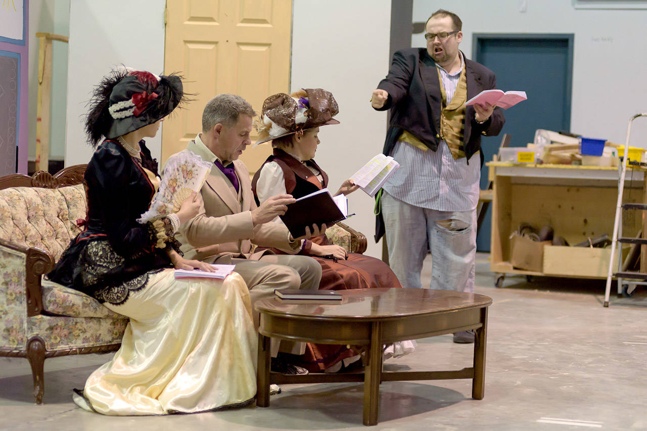 Chilliwack players guild presents saucy french farce for French farce