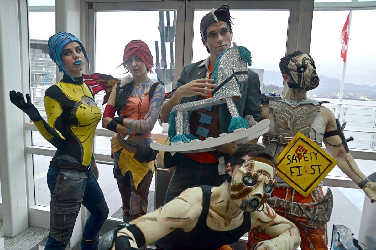 PHOTOS: Wacky, weird and wonderful on display at annual Fan Expo