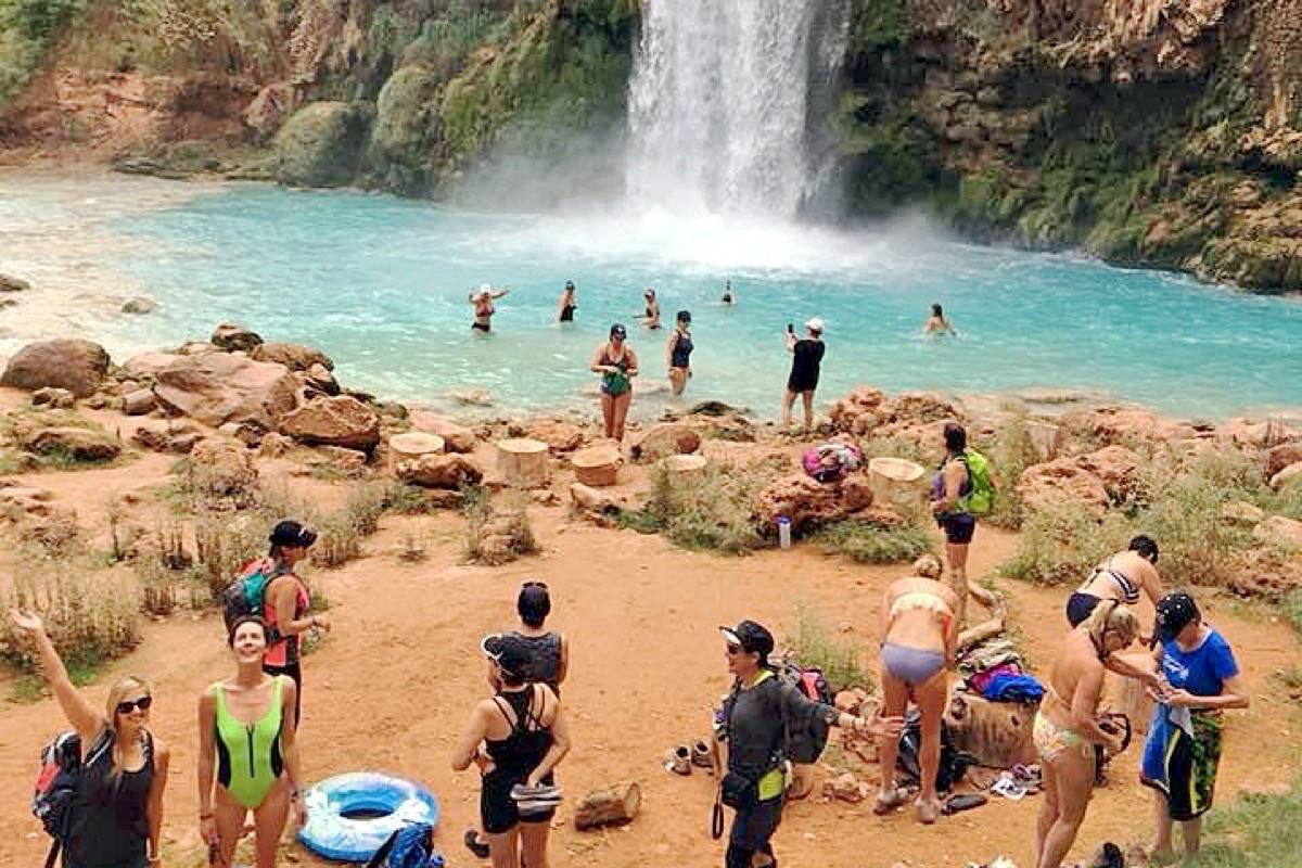 Grand Canyon trek the 'most amazing experience'