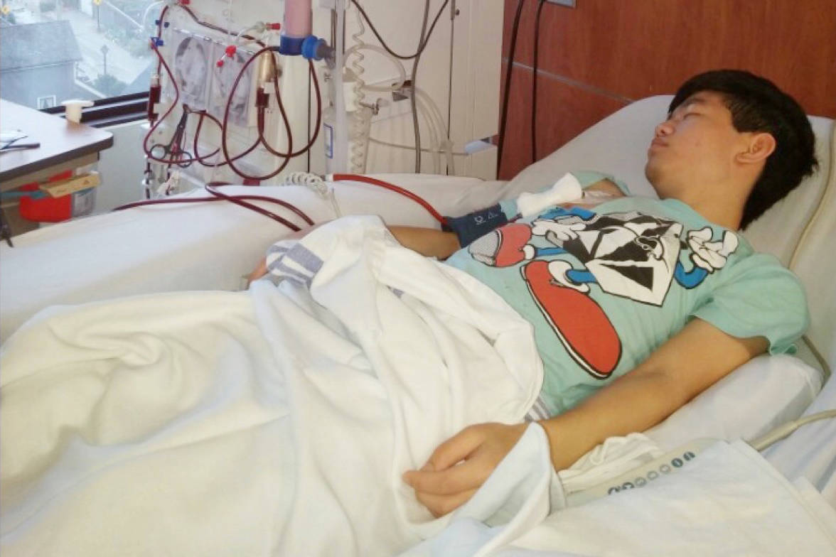 Paul Chung, 19, was recently diagnosed with aHUS, and is in need of a $750,000 drug called Soliris. His family is hopeful that he, too, will be approved for coverage by the provincial government. Submitted photo