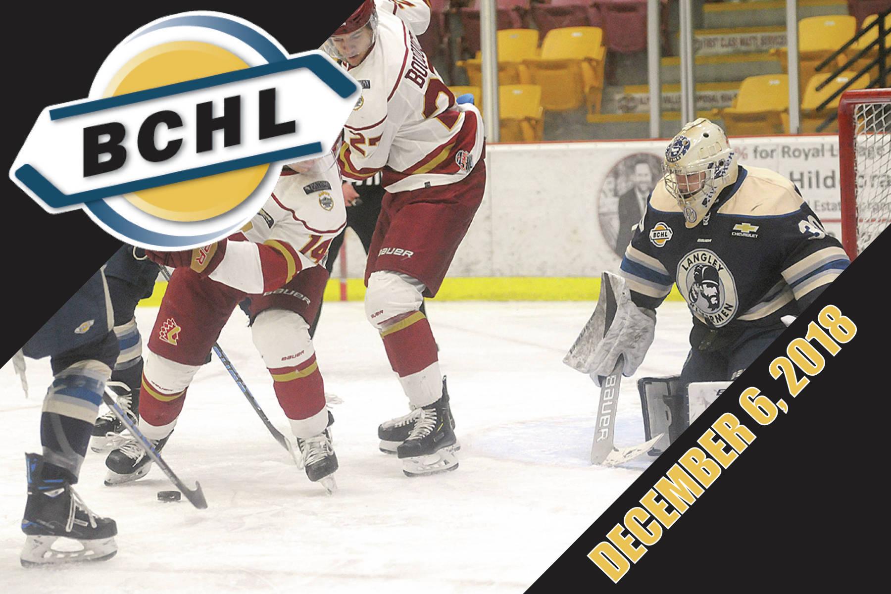 Around the BCHL: B.C. junior A league dominates Team Canada West roster
