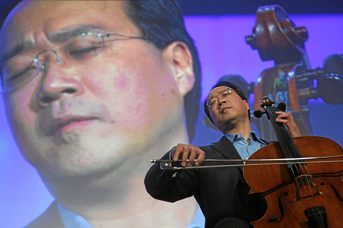 Renowned cellist Yo-Yo Ma to give free concert in Canadian subway today