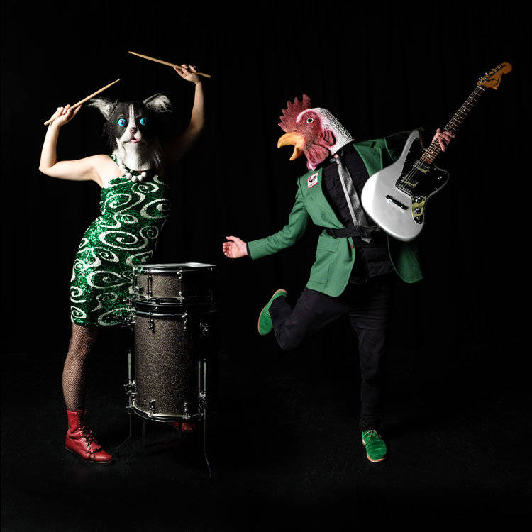 Vancouver rock n' roll duo Kitty and the Rooster. (Submitted)