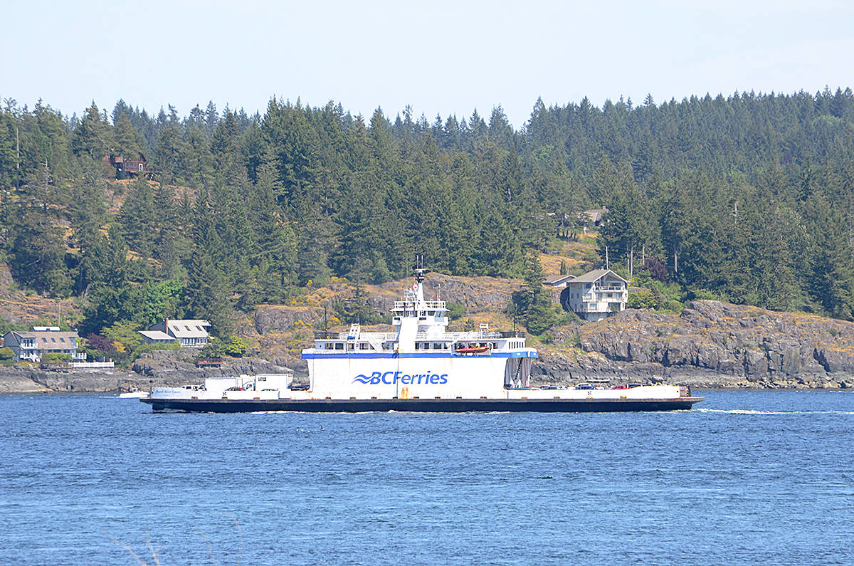 Can you board a ferry in a medical emergency? A Quadra man in the middle of a heart attack had issues getting on the ferry to go to hospital in Campbell River and was told to call 911. File photo/Campbell River Mirror