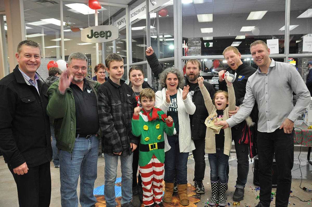 O Connor Chrysler >> Christmas Comes Early For Chilliwack Families Chilliwack Progress