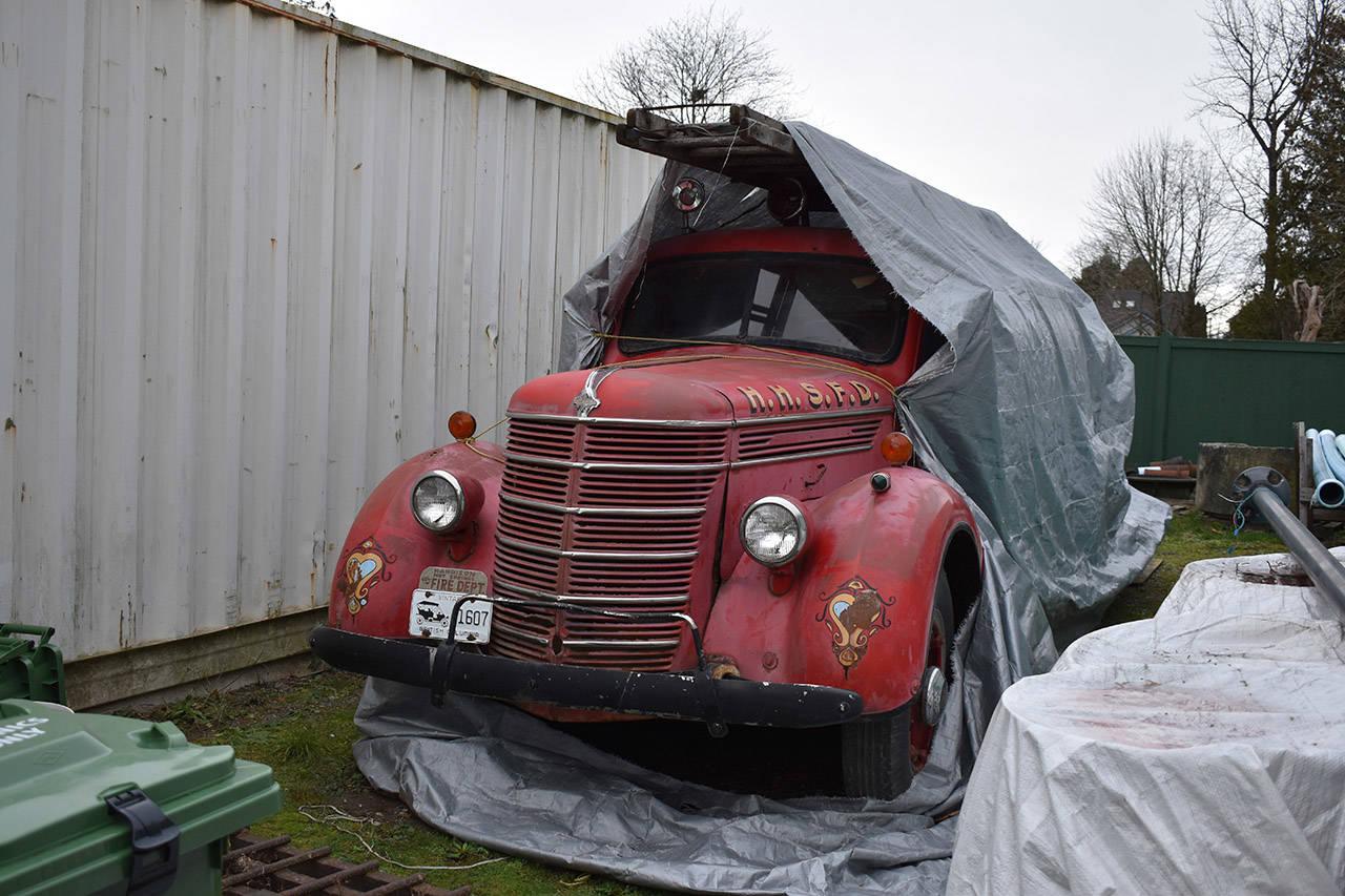 Harrison seeking history buffs to buy 1941 fire truck