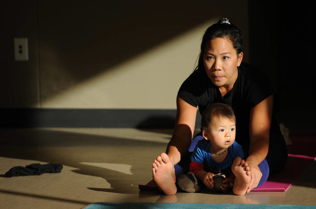 Slide show: Baby Yoga at the Sardis Library in Chilliwack - Chilliwack Progress