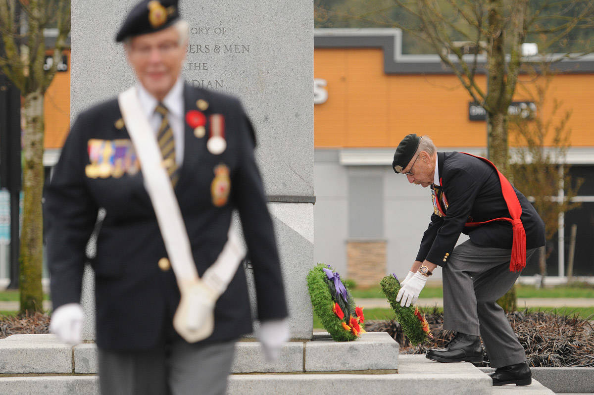 PHOTOS: The 102nd commemoration of the Battle of Vimy Ridge in Chilliwack