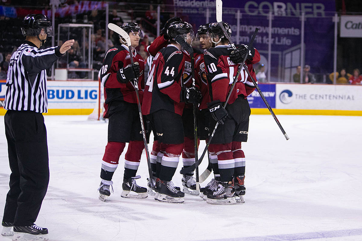 d9038be8 VIDEO: Vancouver Giants come back to earn 4-3 overtime victory ...