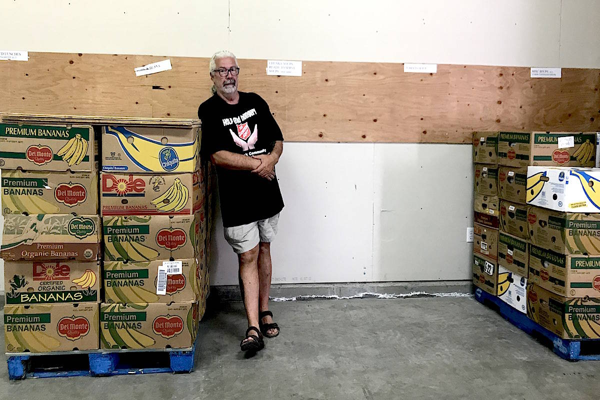 Sally Ann says the food bank supplies are low while demand is growing