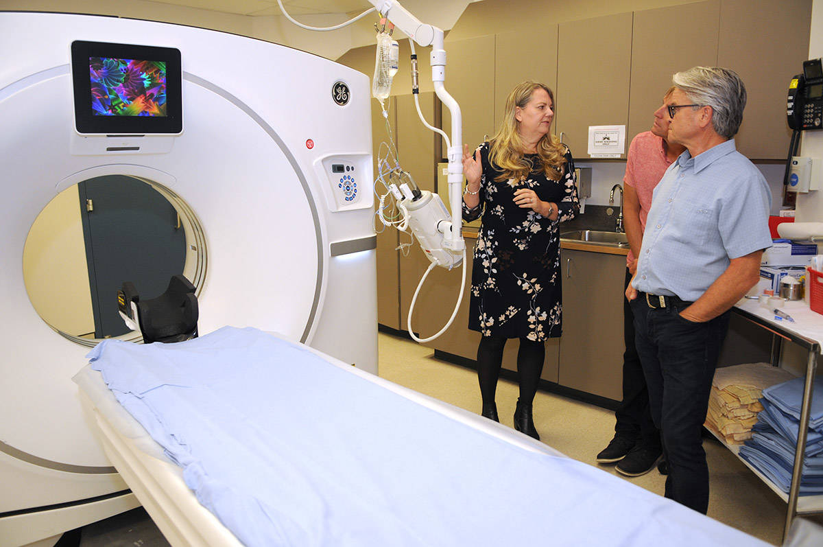 New $1.8-million CT scanner in operation at Chilliwack General Hospital