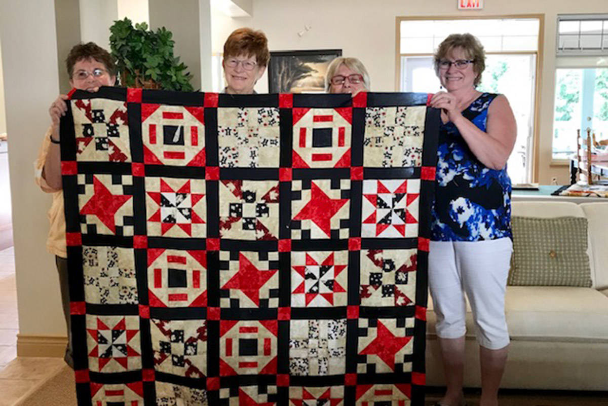 Quilts for injured soldiers will be some of many on display at quilt show in Chilliwack