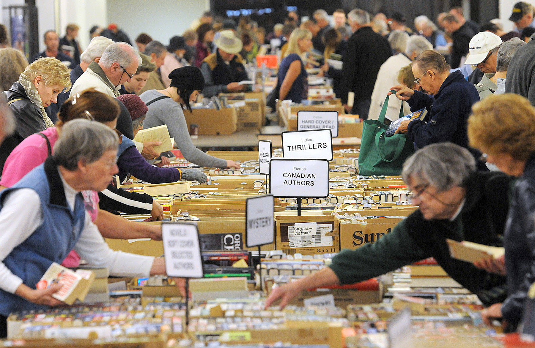 Chilliwack's giant Rotary Book Sale grows to two weeks long this year