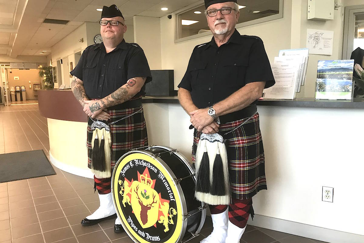 Pipe band set to perform Sunday in Chilliwack to honour Piper Richardson