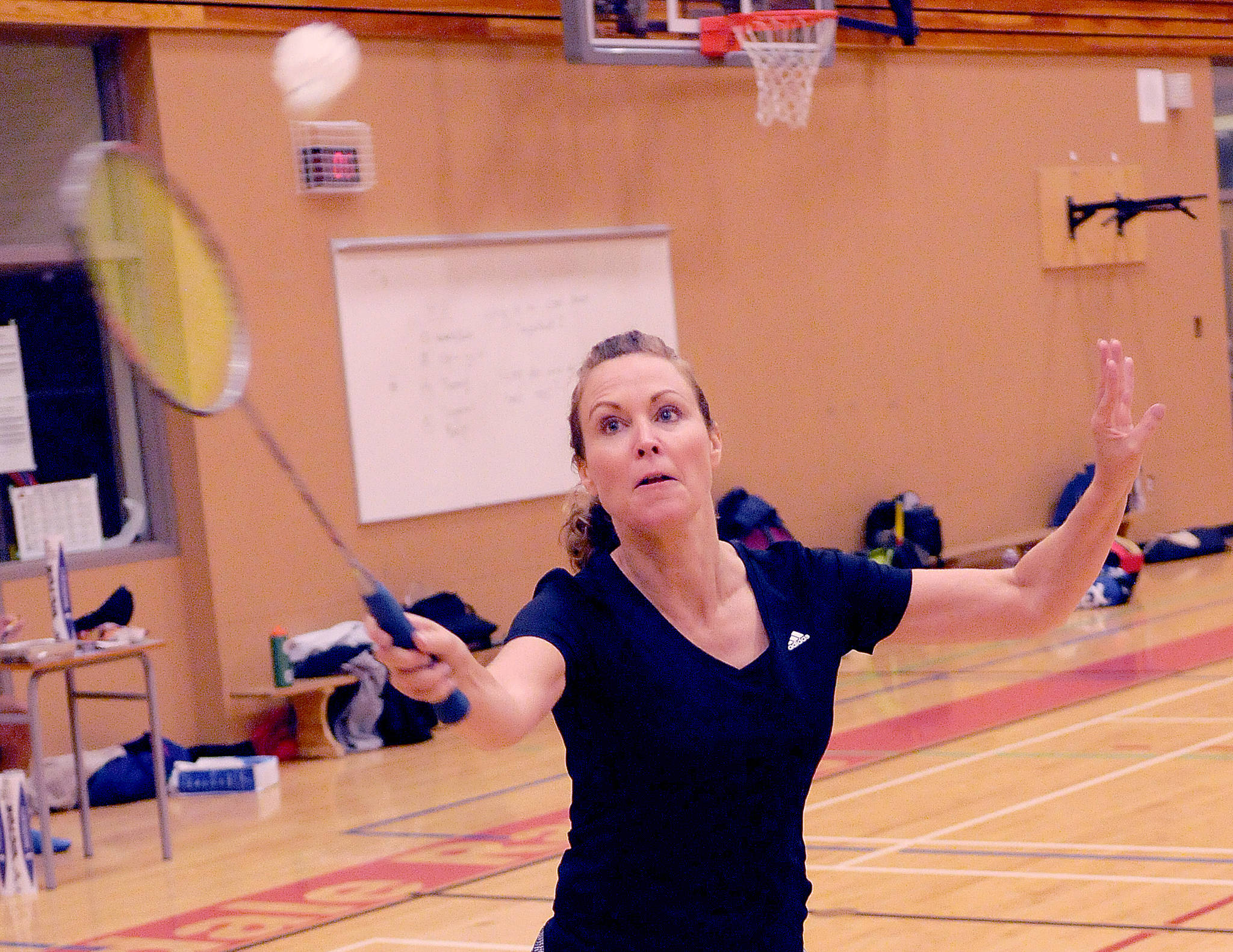 Birdies fly fast and furious at Chilliwack Badminton Club