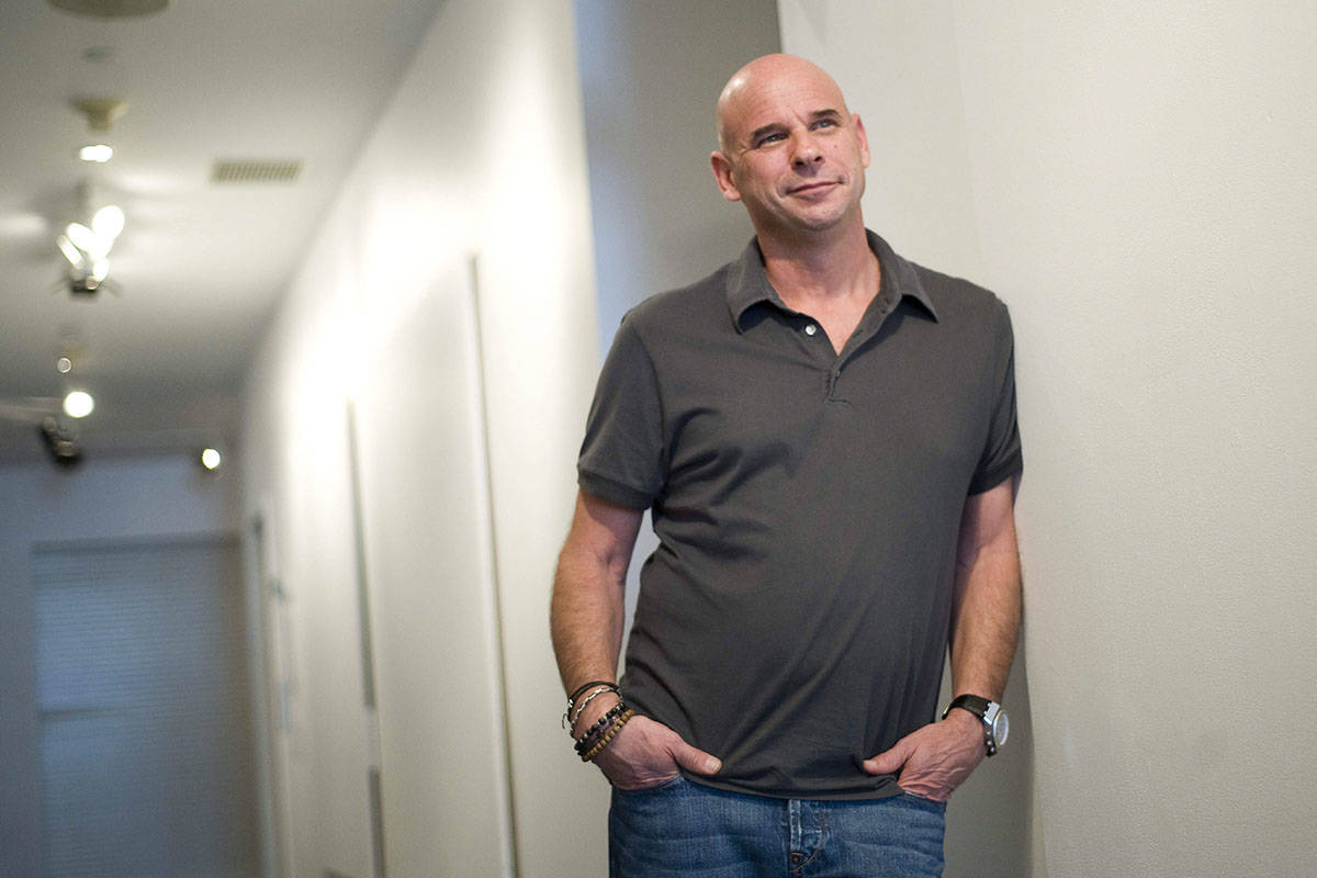 Founder of Cirque du Soleil Guy Laliberte poses for a photograph in Montreal, Tuesday, June 21, 2011. One of the co-founders of Canadian circus performance show Cirque du Soleil is being questioned by authorities in Tahiti on allegations of cannabis cultivation. Montreal-based entrepreneurial organization Lune Rouge says Guy Laliberte is being questioned about cannabis being grown on his French Polynesian private island for his personal use. THE CANADIAN PRESS/Graham Hughes