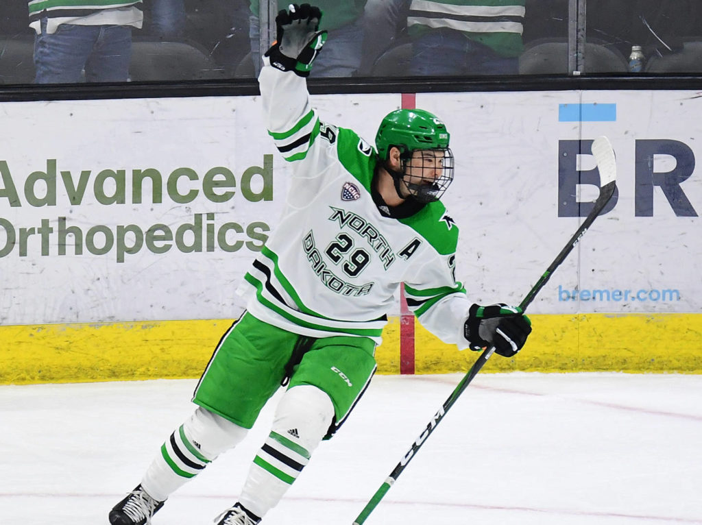 VIDEO: Former Chilliwack Chief continues offensive explosion with North Dakota Fighting Hawks - Chilliwack Progress