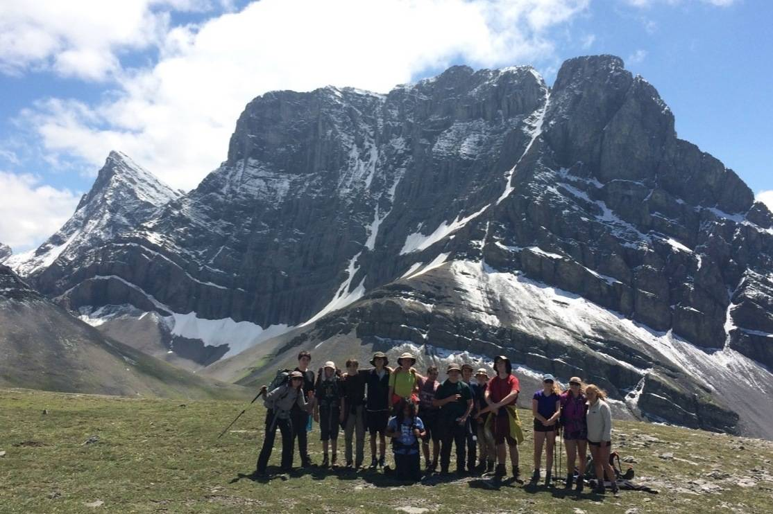 A youth group that spent six days deep in the heart of the Rocky Mountains. (Wildsight/Dave Quinn file)